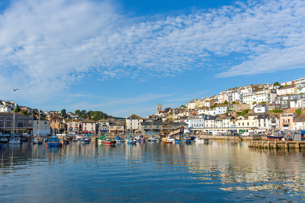 Brixham Devon on the coast